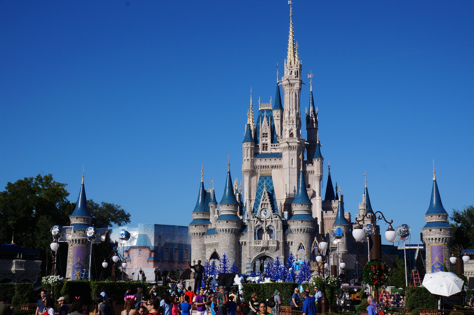 Magic Kingdom of Disney is possible due to Walt Disney's Whole Life policy.